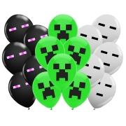 Balão látex  ''9'' Minecraft