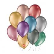 Balões Metallic Balloons São Roque Nº9 Sortido