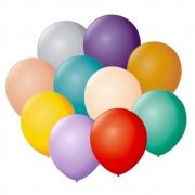 Balões São Roque  Liso Nº 7 Sortido