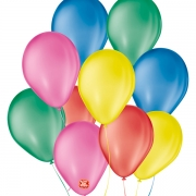Balões São Roque  Liso Nº 9