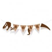 Banderolas Decorativas Dinossauro