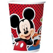 Copo De Papel180 ml Mickey Mouse