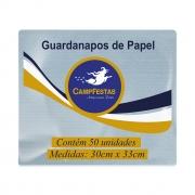 Guardanapo Crepado Folha Simples-CAMPFESTAS