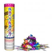 Lança Confetes Coloridas Laminados