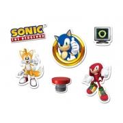 Mini Personagens  Decorativos Sonic
