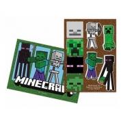 Painel De 64 cm Minecraft