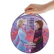 Painel Sublimado em Tecido Frozen 2