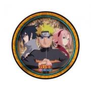 Prato de Papel Naruto Shippuden