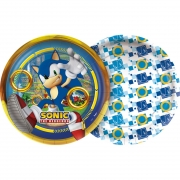 Prato De Papel Sonic