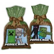 Sacola Plástica Minecraft