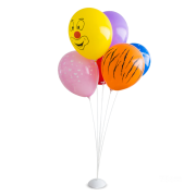 Suporte  Para Balões Branca / Base De  Ferro-Pequena