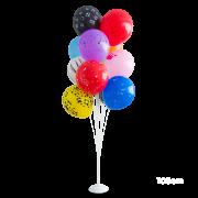 Suporte  Para Balões Branca / Base De  Ferro-Grande