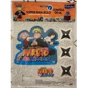 Topper Para Bolo Naruto Shippuden