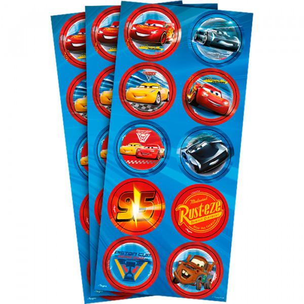 Adesivo Decorativo Cars- 03 Cartelas