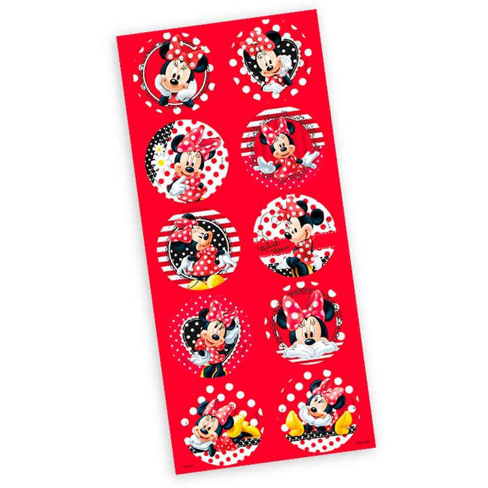 Adesivo Decorativo Minnie Mouse