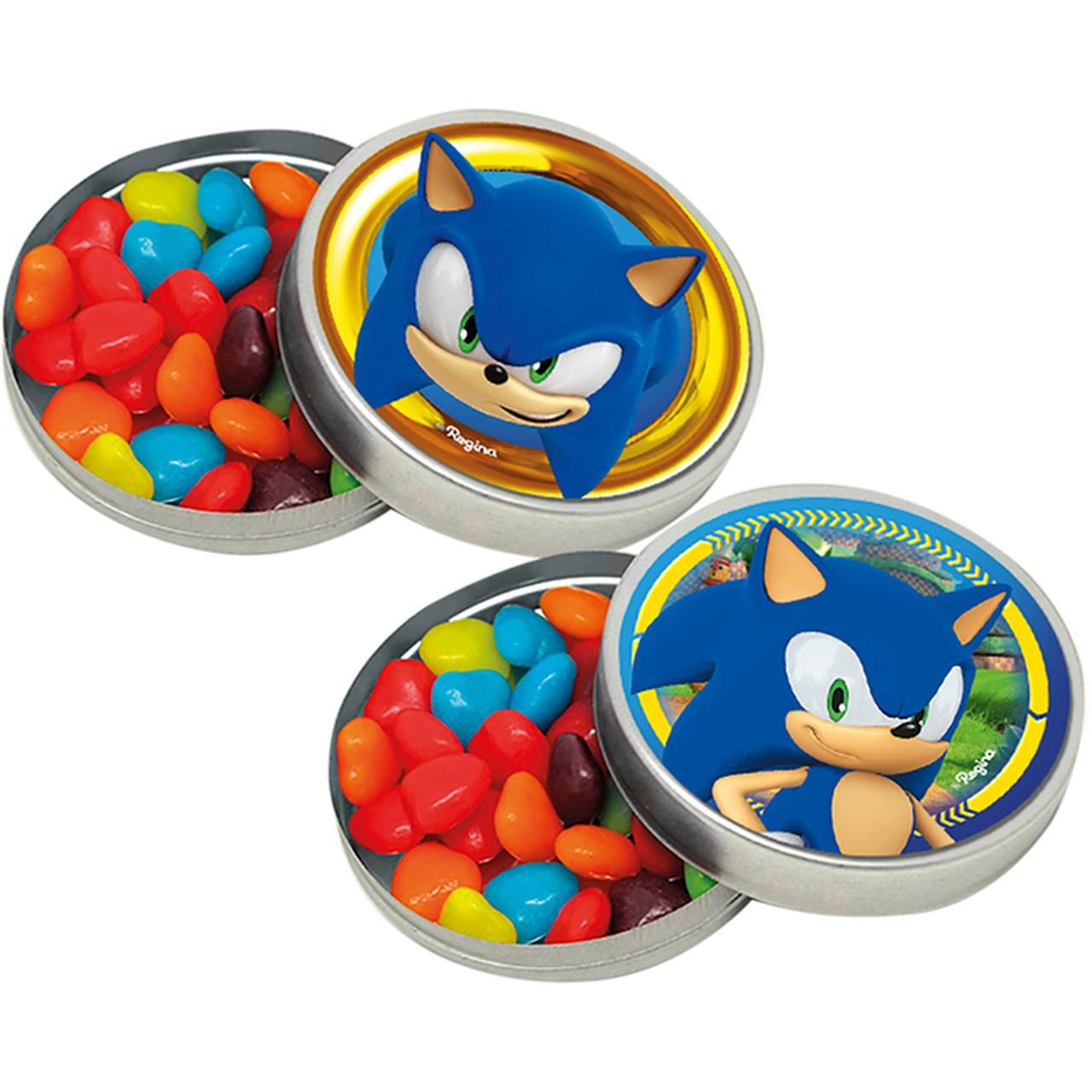 Adesivo Decorativo Redondo Sonic/ 03 Cartelas