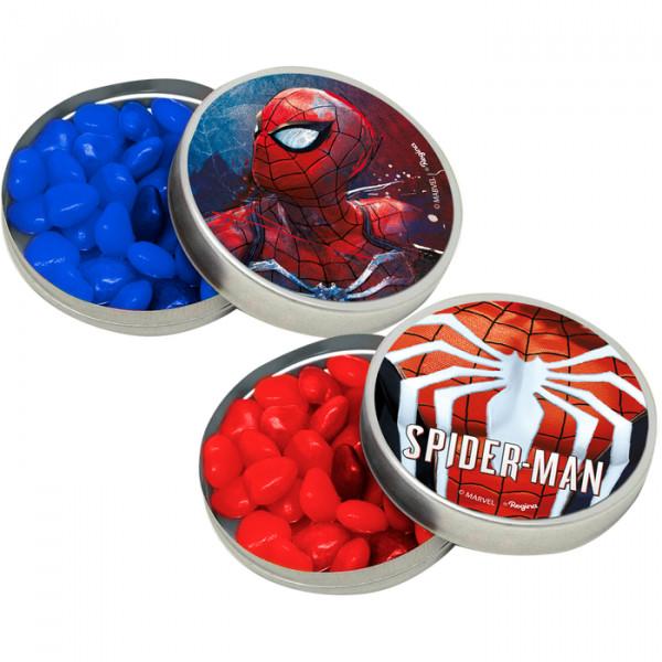 Adesivo Decorativo Redondo Spider-Man- 03 Cartelas