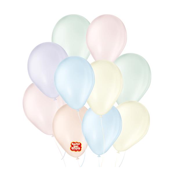 Balão Candy Colors Sortido Nº5/ 25 unidades