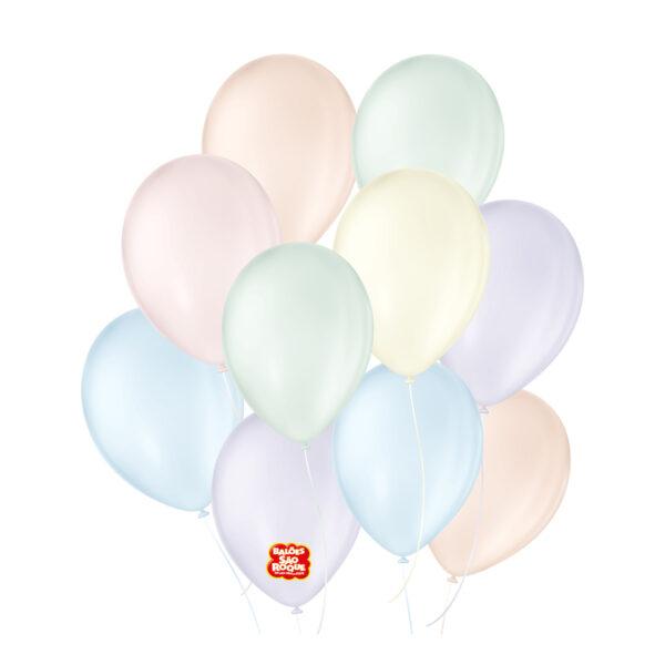 Balão Candy Colors Sortido Nº9/ 25 Unidades