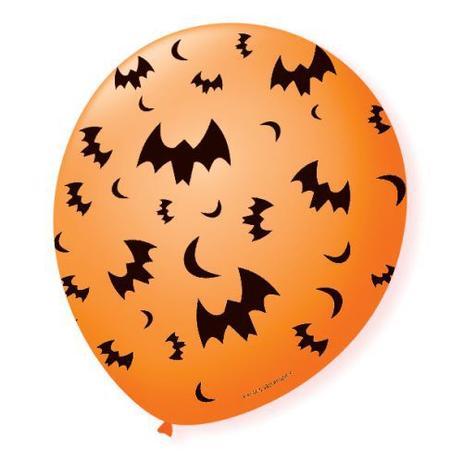 Balão Decorado Halloween Sortido São Roque 5 Polegadas / 15 unidades