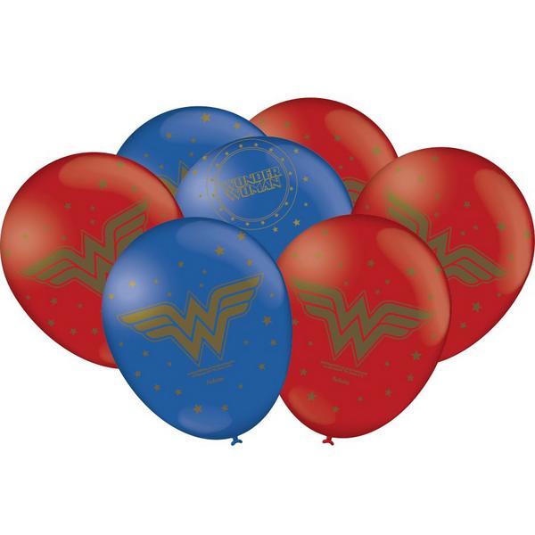 Balão Especial 9 Mulher Maravilha- 25 Unidades