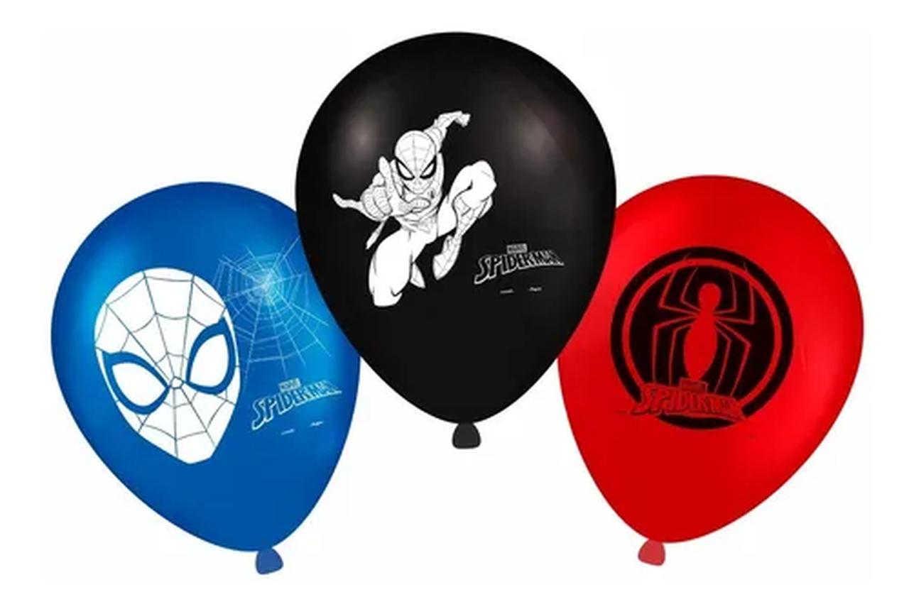 Balão  Látex  Spider-Man 09