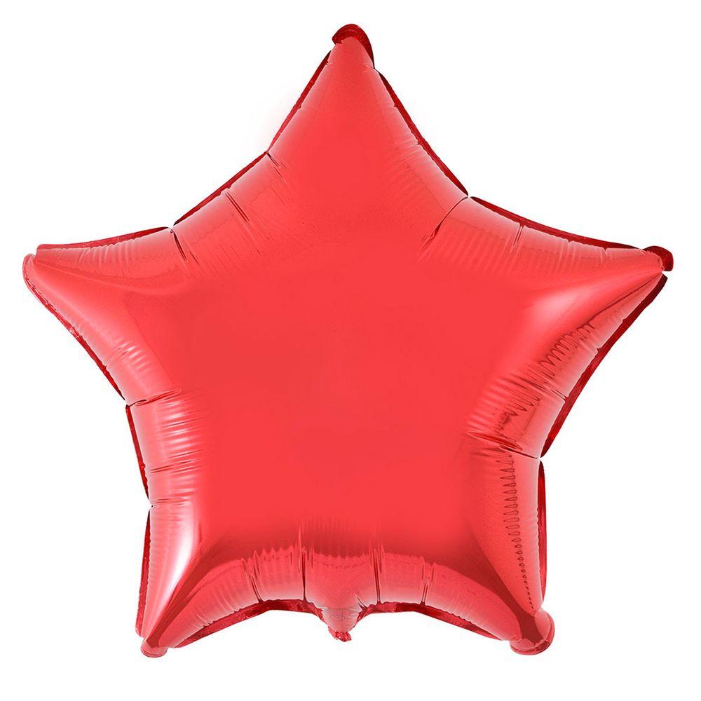 Balão Metalizado Estrela Flexmetal 20 Polegadas