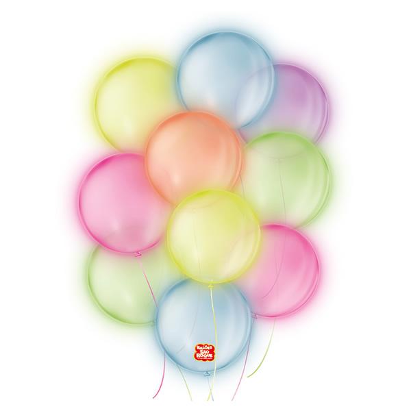 Balão Neon São Roque Nº5 Sortido/ 25 Unidades