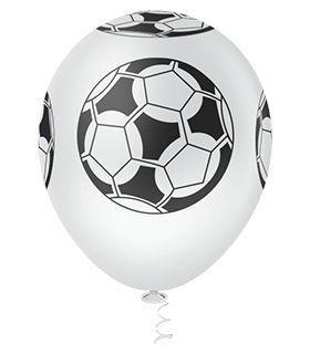 Balão  PIC PIC Decorado Bola De Futebol  Nº10/ 25 Unidades