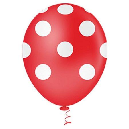 Balão  PIC PIC Decorado bolinhas Nº10/ 25 Unidades