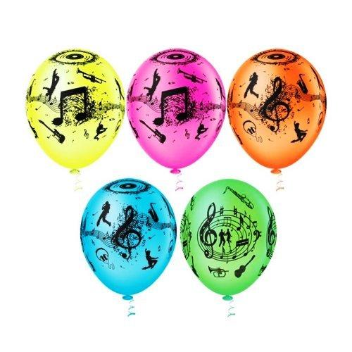 Balão PIC PIC Decorado Neon Balada Sortido Nº10/ 25 unidades