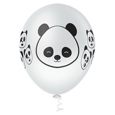 Balão  PIC PIC Decorado Panda Nº10/ 25 Unidades
