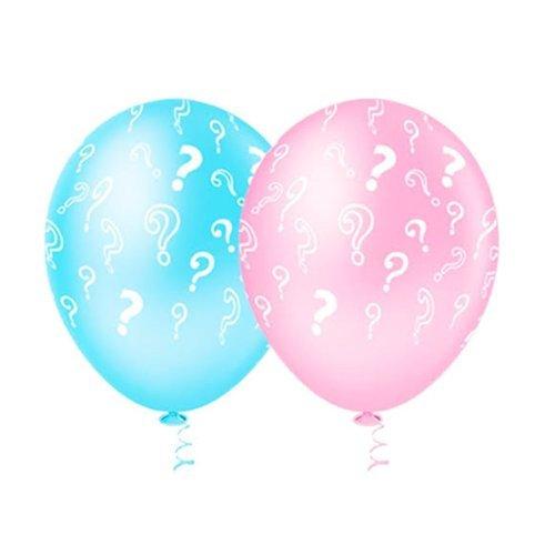 Balão PIC PIC Decorado Revelação Sortido Nº10/ 25 Unidades