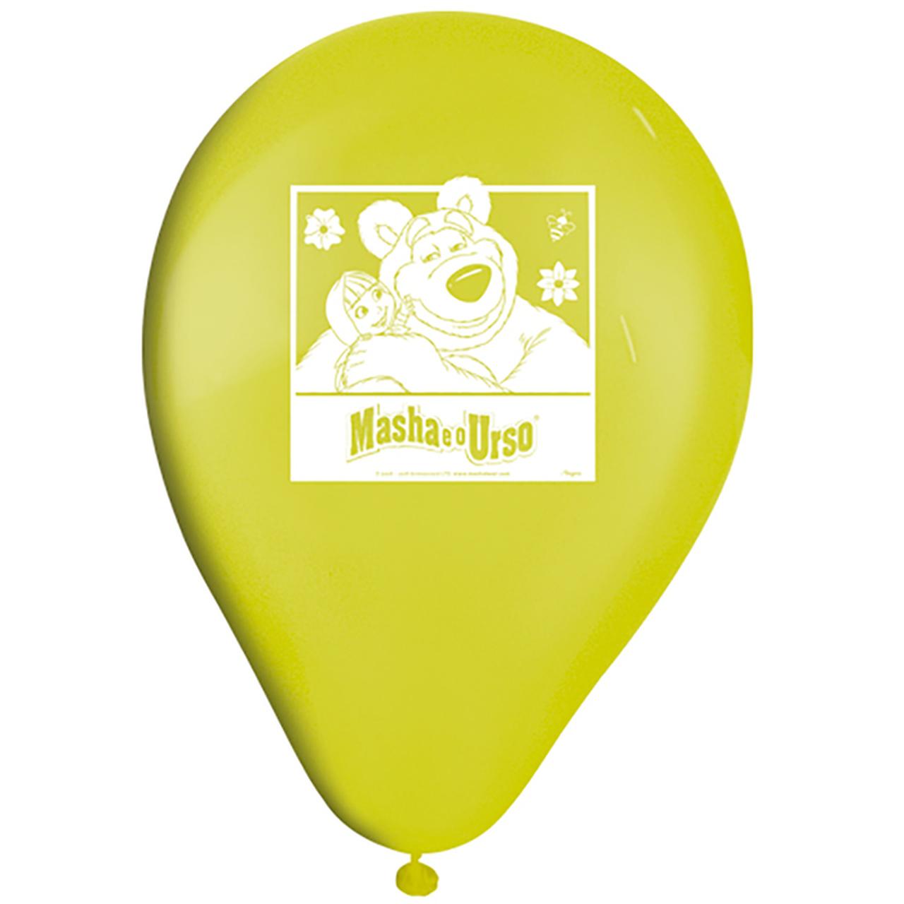 Balão  Tamanho 09 Masha e o Urso