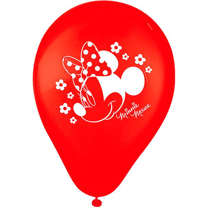 Balão  Tamanho 09 Minnie Mouse/ 25 Unidades