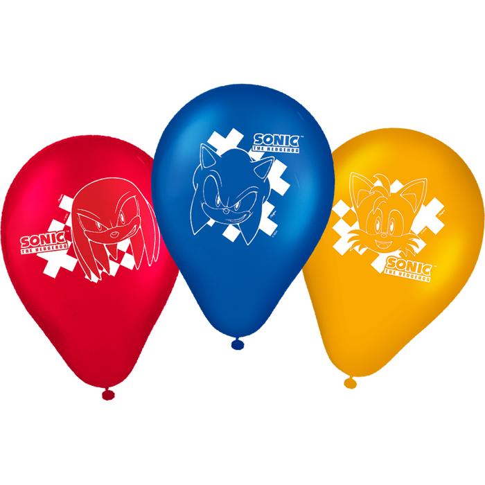 Balão  tamanho 09 Sonic