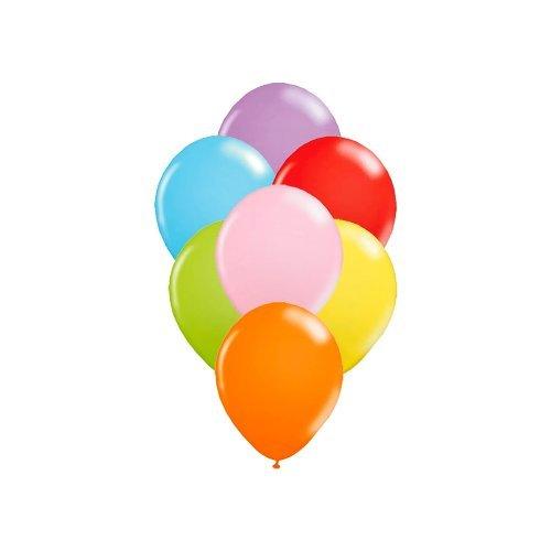 Balões Linha Redondo PIC PIC Liso Sortido Nº7/ 50 Unidades