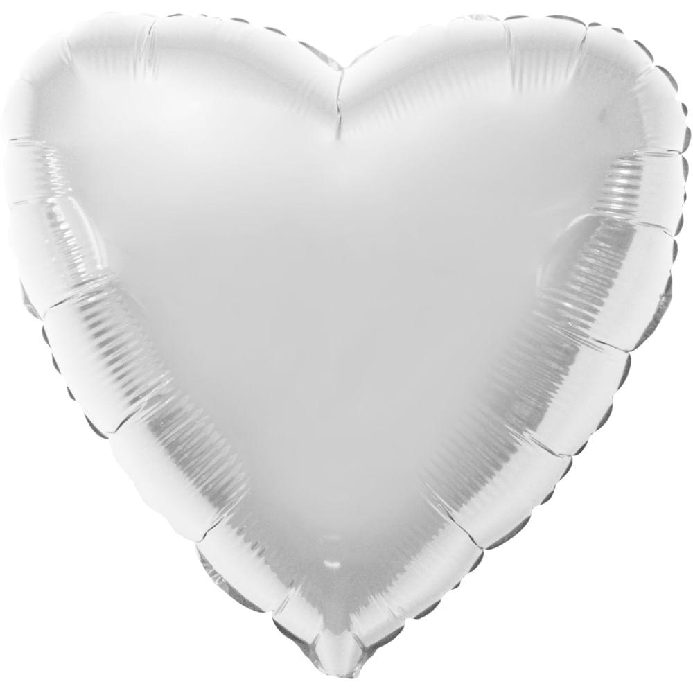 Balões Metalizado Coração Flexmetal 20 Polegadas