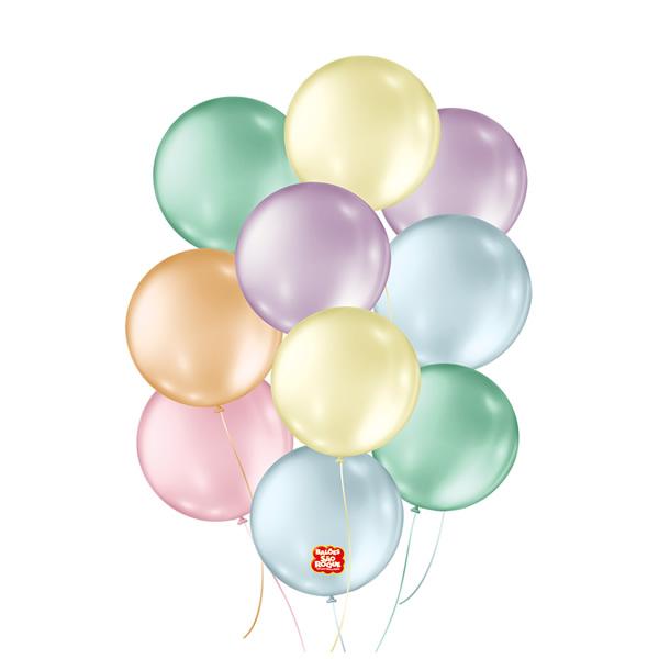 Balões Perolado São Roque Nº5/ 50 Unidades
