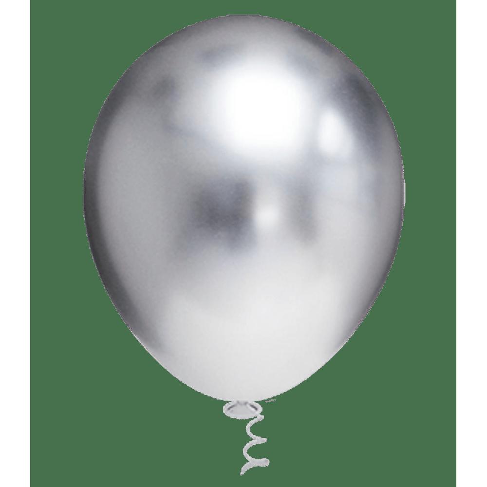 Balões Platino PIC PIC Nº10/ 25 Unidades