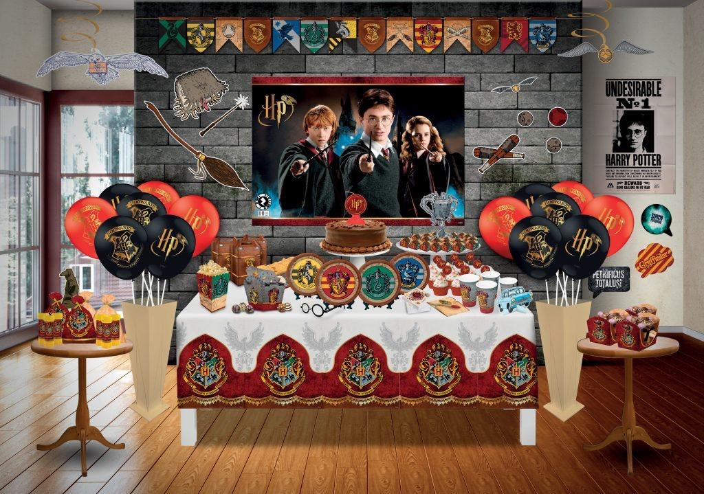 Bandeirinha Para Docinhos Harry Potter