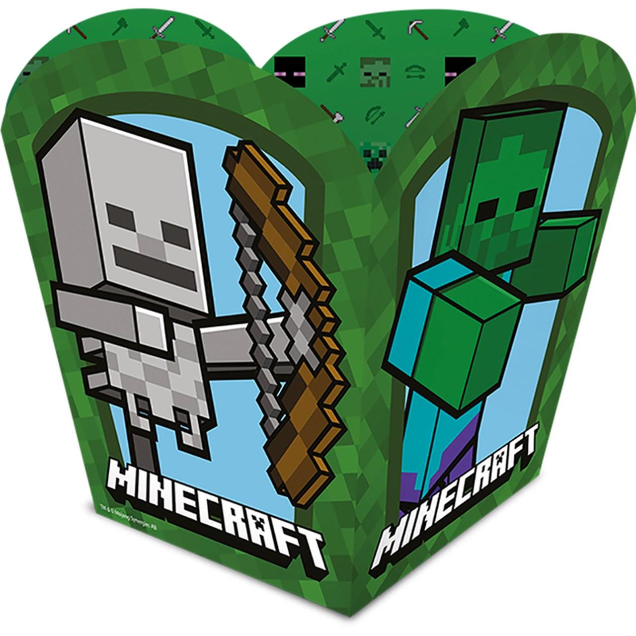 Cachepot Grande  Minecraft/ 04 Unidades