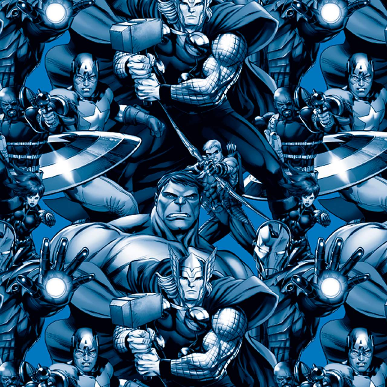 Cachepot Pequeno Avengers Assemble/ 04 Unidades