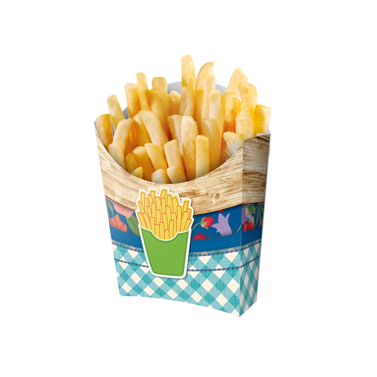 Caixa Para Batata Frita Junino-08 Unidades