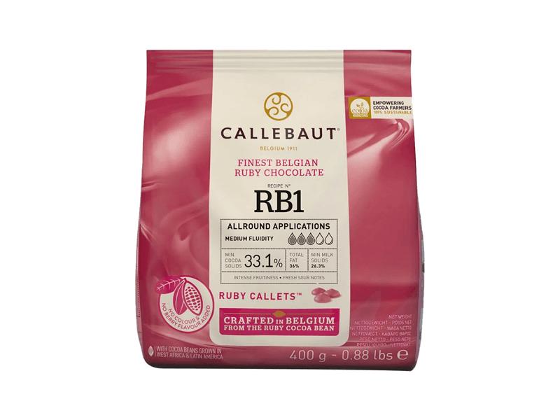Callebaut Chocolate Ruby 33,1