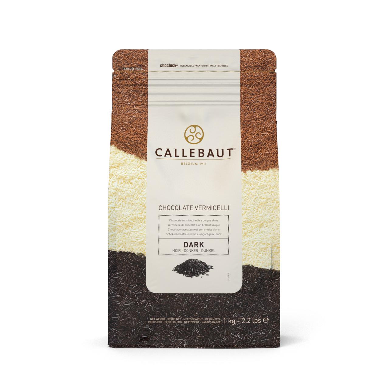 Callebaut Vermicelli Chocolate Amargo 1kg