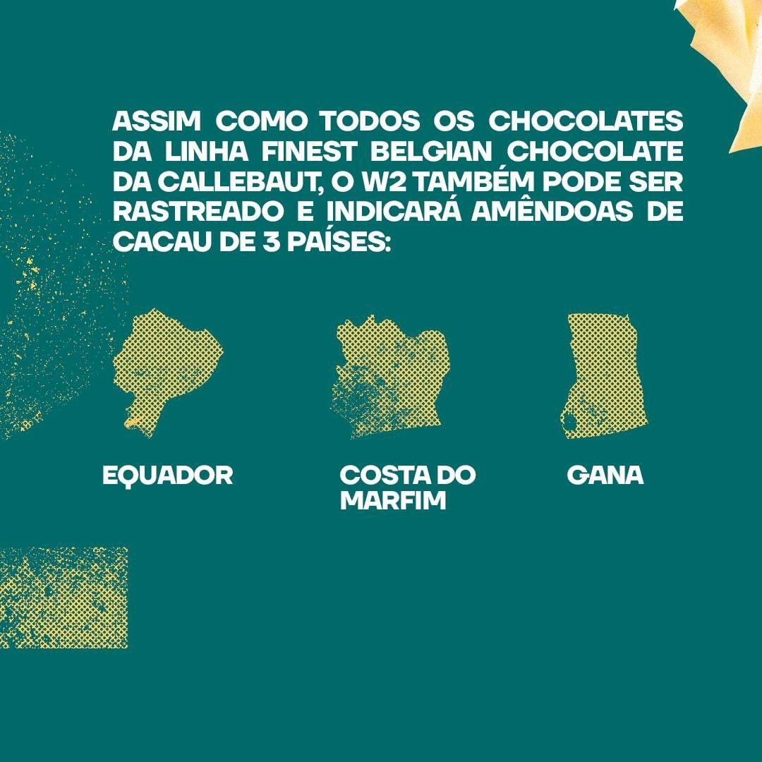 Callebaut W2 Chocolate Branco 28% Callets 0,4kg