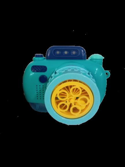 Câmera Que Solta Bolhas Infantil / 01 unidade
