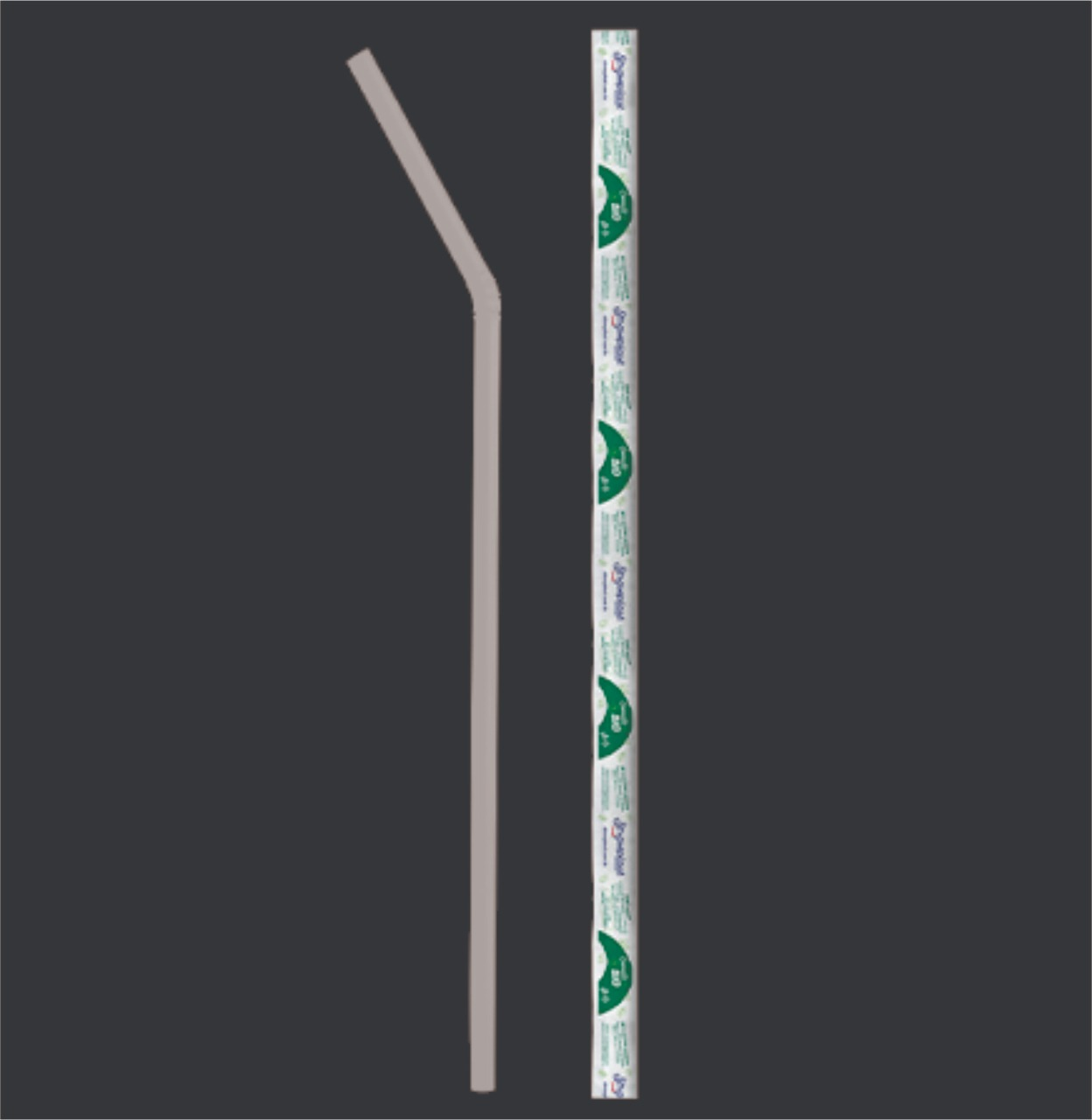 Canudo Flexível / 100 Unidades