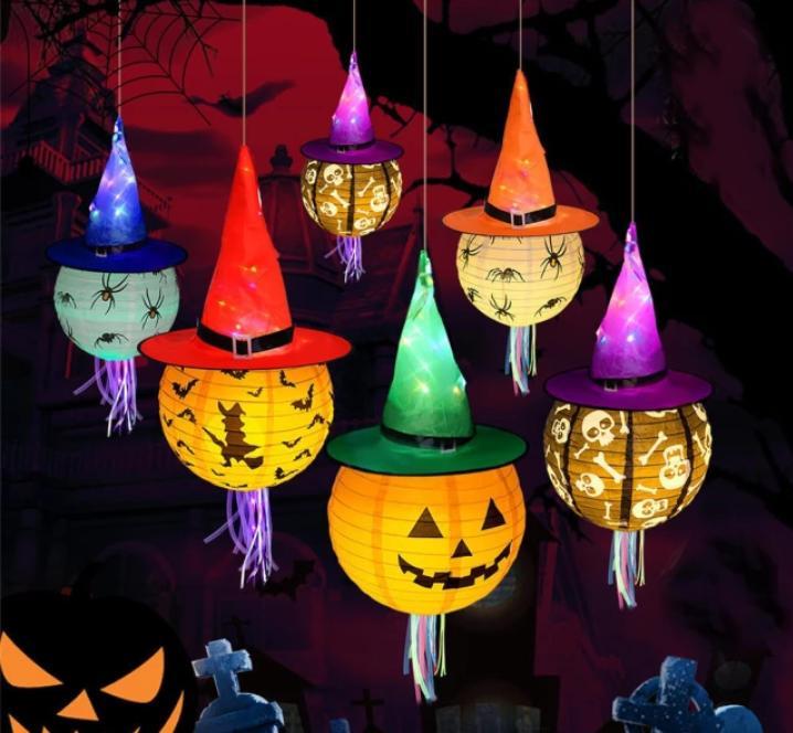 Chapéu De Bruxa Com Led Halloween / 01 Unidade